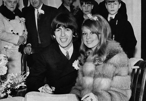 55 jaar geleden: huwelijk van George Harrison en PattieBoyd