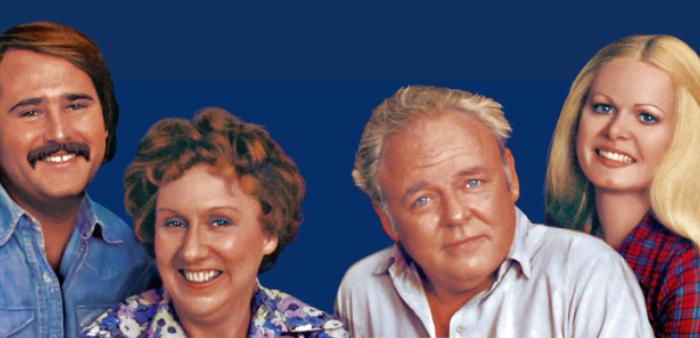 """Vijftig jaar geleden: start van """"All in thefamily"""""""