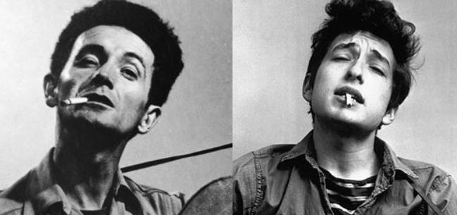 Zestig jaar geleden: Bob Dylan gaat Woody Guthrieopzoeken