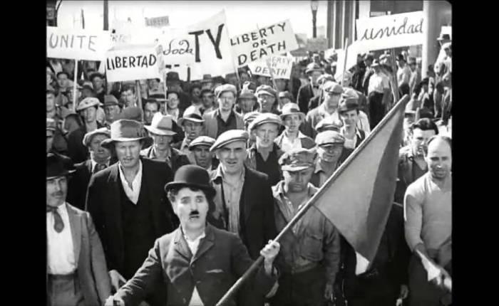 """85 jaar geleden: première van """"ModernTimes"""""""