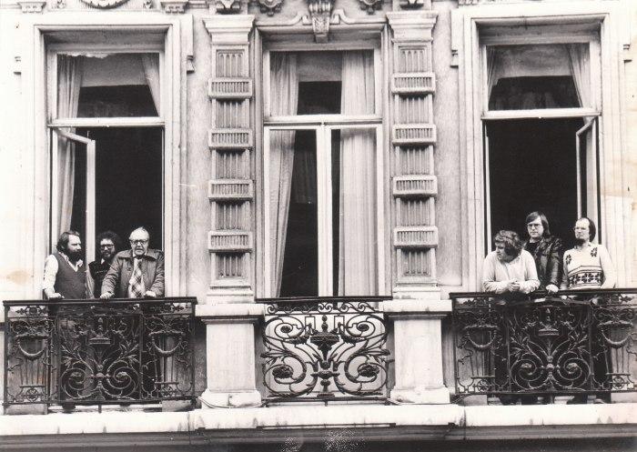 35 jaar geleden: De Rode Vaan verhuist naar deLemonnierlaan