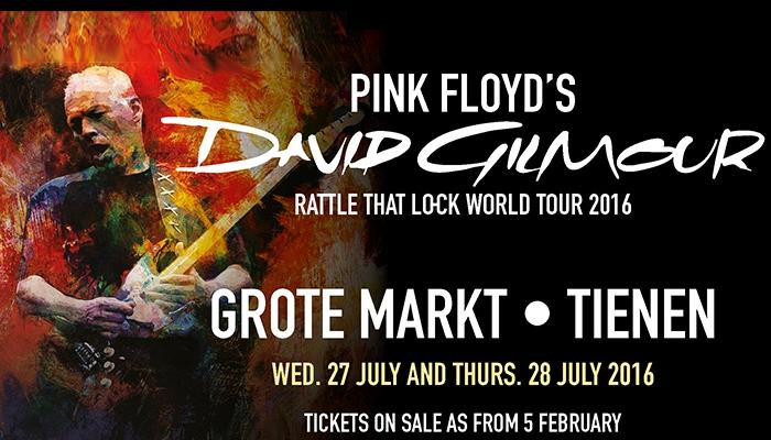 David Gilmour wordt75…