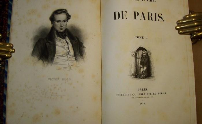 """185 jaar geleden: Victor Hugo debuteert met """"Notre Dame deParis"""""""
