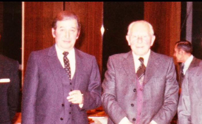 Veertig jaar geleden: mijn vader gaat metpensioen