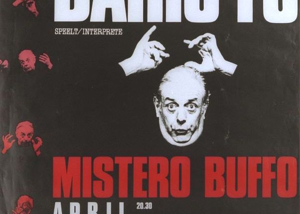 Dertig jaar geleden: Dario Fo in hetPSK