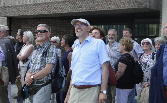 Jürgen Pieters, Kris Versluys e.a. als 'BelezenWetenschappers'
