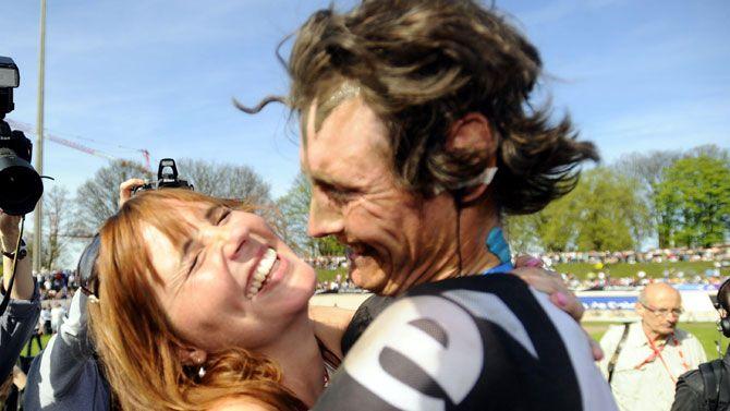 Tien jaar geleden: Johan Vansummeren wintParijs-Roubaix