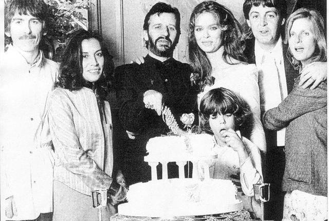 Veertig jaar geleden: tweede huwelijk voor RingoStarr