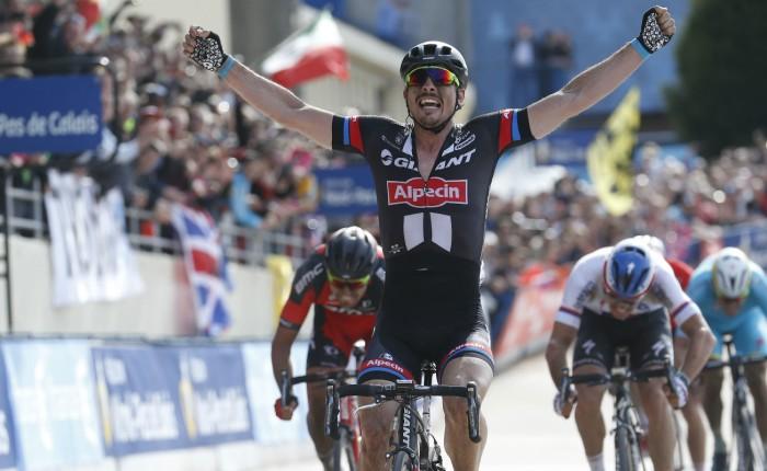 Vijf jaar geleden: John Degenkolb wintParijs-Roubaix