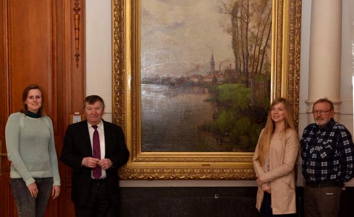 Vijf jaar geleden: Temse verwerft schilderij van JulesGuiette