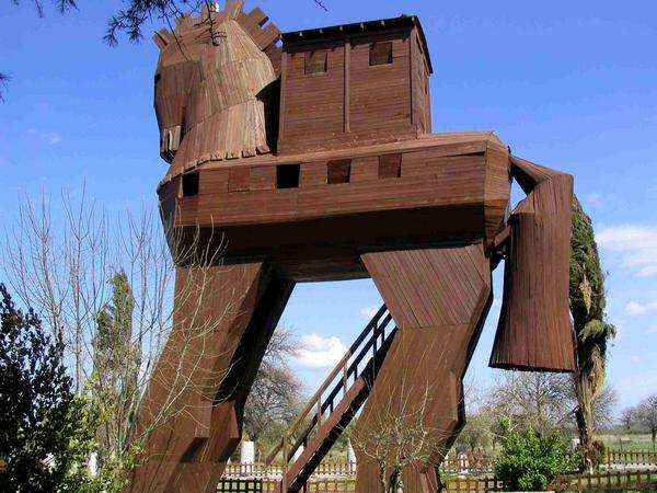 3200 jaar geleden: het paard vanTroje