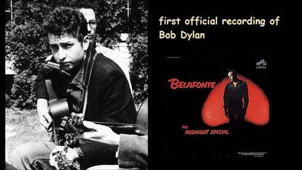 55 jaar geleden: eerste opname van BobDylan