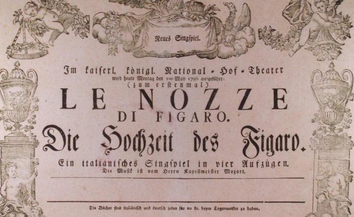 """235 jaar geleden: creatie van """"Le Nozze diFigaro"""""""