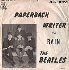 """Vijftig jaar geleden: """"Paperback writer""""uitgebracht"""