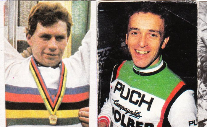 35 jaar geleden: vier topcrossers aan de start van deTour