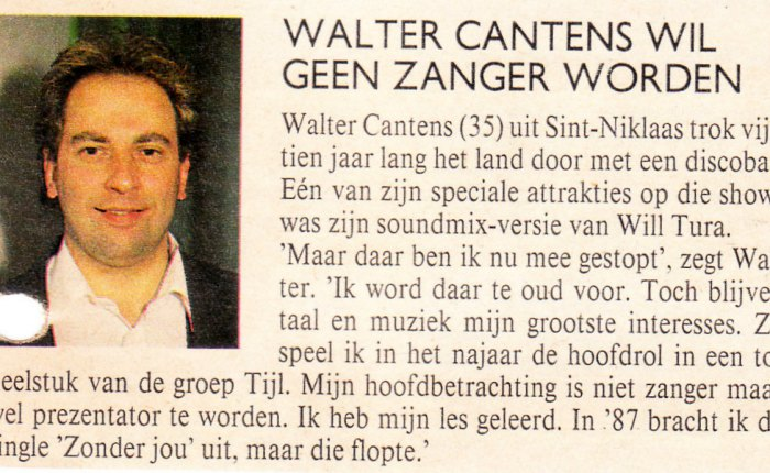 31 walter cantens in 1991
