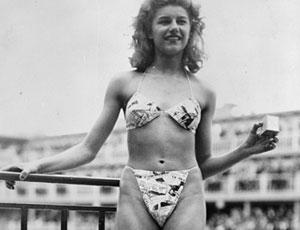 Zeventig jaar geleden: de bikini slaat in als eenbom