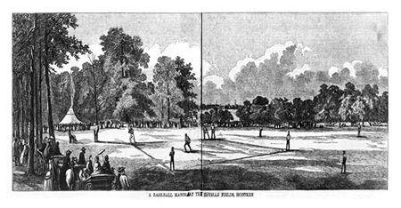 175 jaar geleden: de eerste baseball-wedstrijd