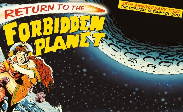 """Dertig jaar geleden: """"Return to the forbiddenplanet"""""""