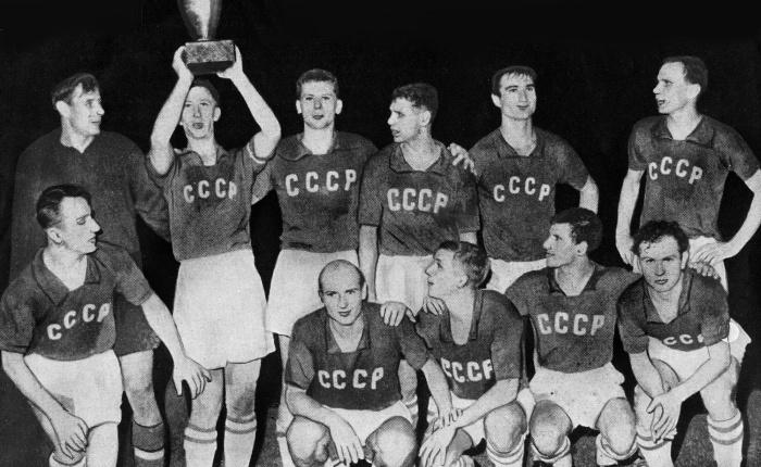 Zestig jaar geleden: de Sovjet-Unie wint het eerste EKvoetbal