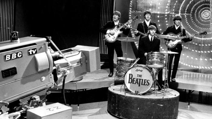 Vijftig jaar geleden: enig live-optreden van The Beatles in Top of thePops