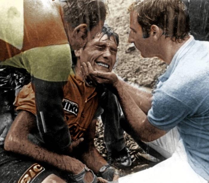 45 jaar geleden: val van Luis Ocana in de afdaling van de Col deMenté
