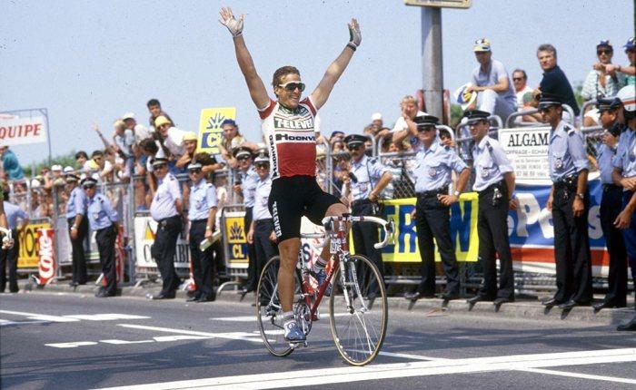 Dertig jaar geleden: Davis Phinney is de eerste Amerikaanse ritwinnaar in de Tour(?)
