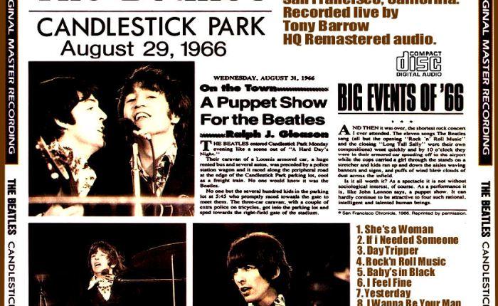 55 jaar geleden: laatste (betalend) concert van TheBeatles