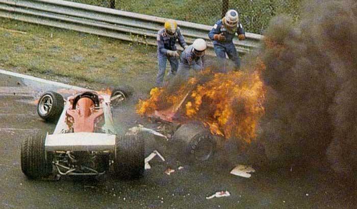 Veertig jaar geleden: Niki Lauda op het nippertjegered