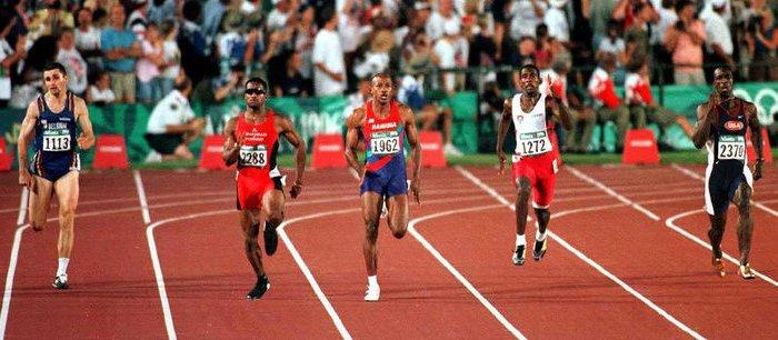 Twintig jaar geleden: Patrick Stevens enige blanke in de finale200m