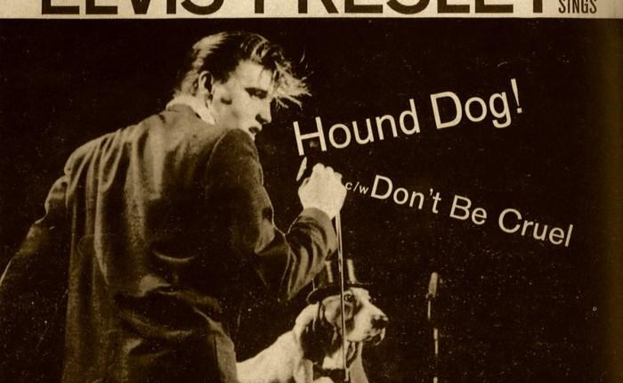 """65 jaar geleden: """"Hound dog"""" opnr.1"""