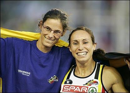 Vijftien jaar geleden: Tia Hellebaut en Kim Gevaert Europeeskampioen