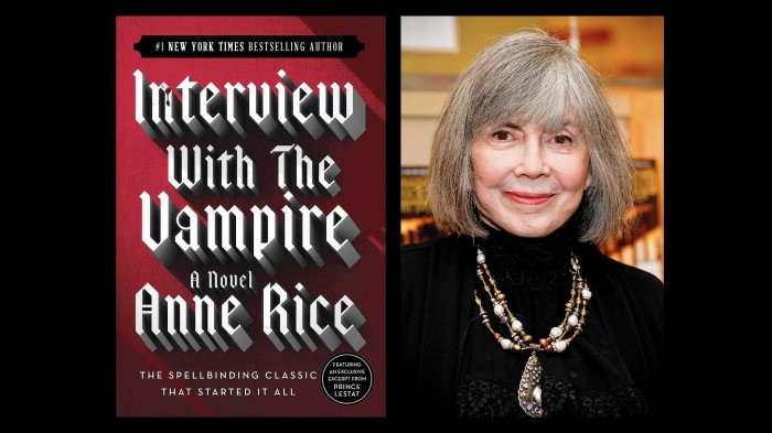 Anne Rice wordt 75…