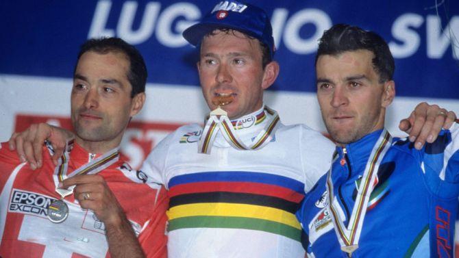 Twintig jaar geleden: Johan Museeuw wordtwereldkampioen