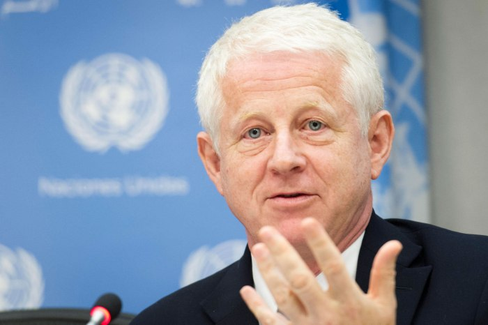 Press Briefing to present ÒThe Global Goals CampaignÓ