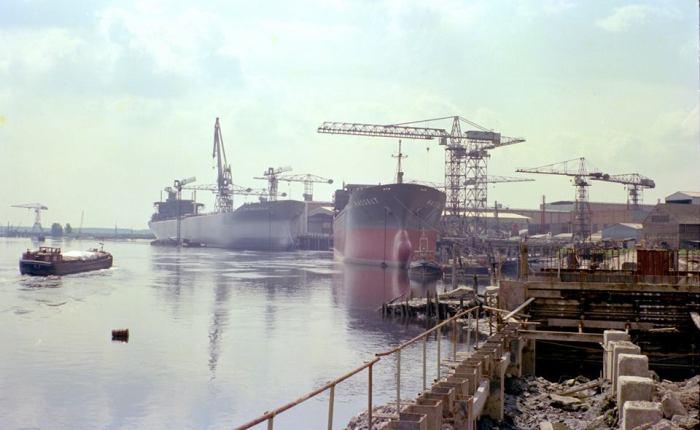 20 jaar geleden: laatste schip op deBoelwerf