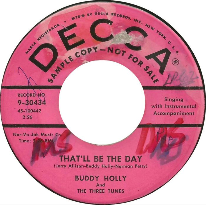 buddy-holly-and-the-three-tunes-thatll-be-the-day-1957