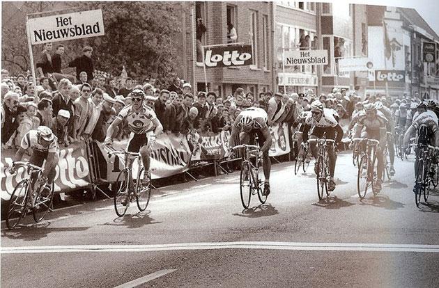 25 jaar geleden: Cipollini wint Gent-Wevelgem na diskwalificatieAbdoe