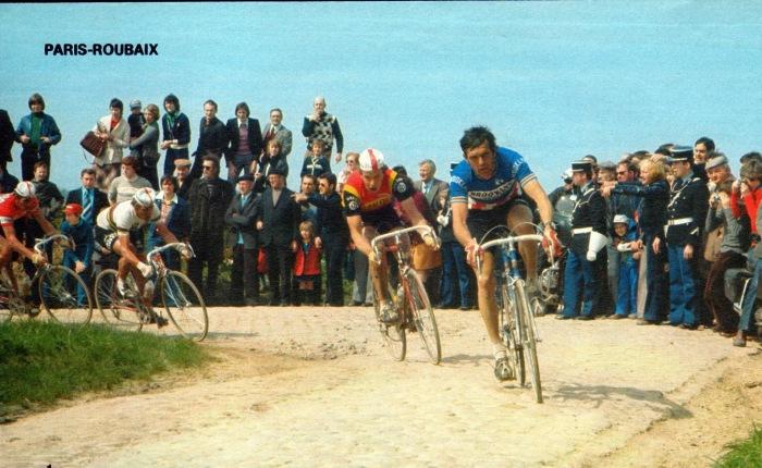 Veertig jaar geleden: Roger De Vlaeminck wint zijn vierdeParijs-Roubaix