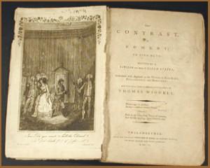"""230 jaar geleden: première van """"The Contrast"""" van RoyallTyler"""