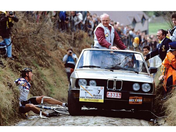 Dertig jaar geleden: Claude Criquielion wint de Ronde van Vlaanderen,maar…
