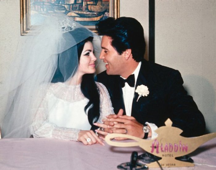 Vijftig jaar geleden: huwelijk tussen Elvis Presley en PriscillaBeaulieu