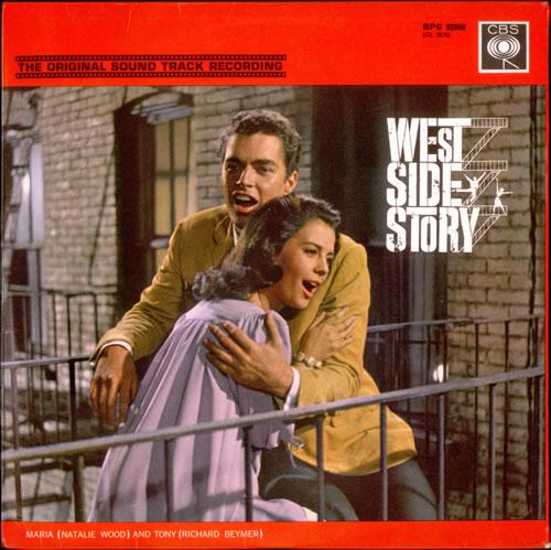 Afbeeldingsresultaat voor west side story original sound track