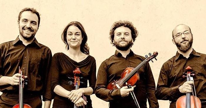 Italiaans kwartet speelt Vlaamse muziek inHingene