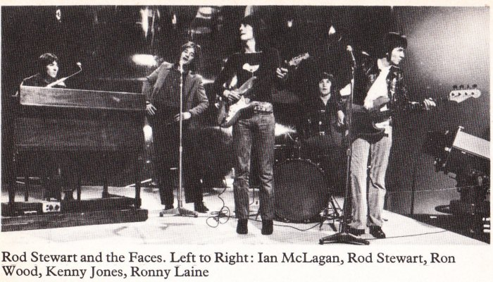 45 Rod Stewart and the Faces