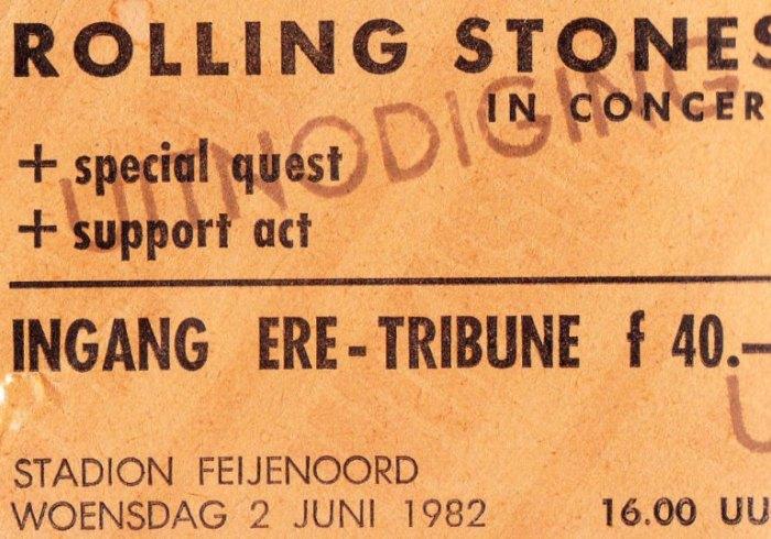 35 jaar geleden: de Stones in het Feyenoordstadion