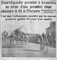 Zestig jaar geleden: Darrigade wint, maar Poblet mag de groene truidragen