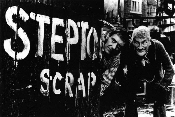 """55 jaar geleden: eerste aflevering van """"Steptoe andSon"""""""
