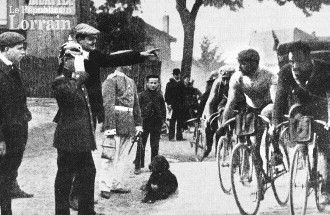 110 jaar geleden: de Tour komt voor het eerst in het buitenland aan… inMetz!