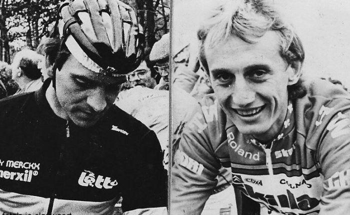 Dertig jaar geleden: Herman Frison en Marc Sergeant winnen elk een halve rit in deTour